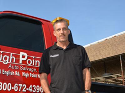 Experienced auto parts salesman in NC